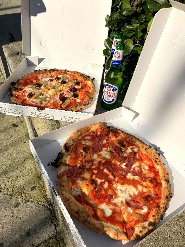 pizza na capri